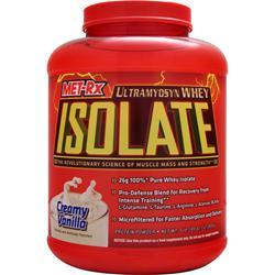 MET-RX Ultramyosyn Whey Isolate Creamy Vanilla 5 lbs