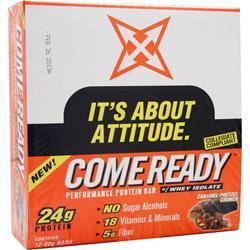 CRONS Come Ready Bar (80g) Caramel Pretzel Crunch 12 bars