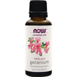 NOW Geranium Oil - 100% Pure 1 fl.oz