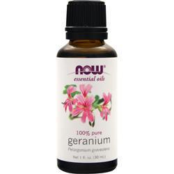 Now Geranium Oil - 100% Pure 1 fl.oz