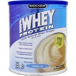 BIOCHEM 100% Whey Protein - All Natural Vanilla 848 grams