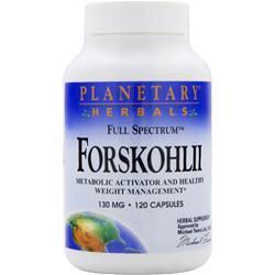 PLANETARY FORMULAS Full Spectrum Forskohlii (130mg) 120 caps
