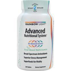 Rainbow Light Advanced Nutritional System 240 tabs