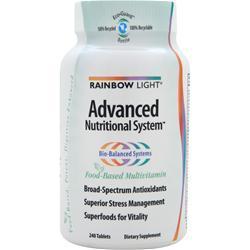 Rainbow Light Advanced Nutritional System 240 tabs