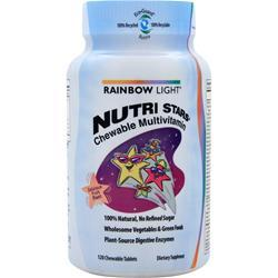 RAINBOW LIGHT NutriStars - Kid's Multivitamin Fruit Blast 120 tabs