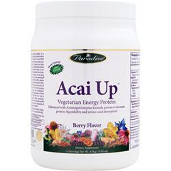 PARADISE HERBS Acai Up - Vegetarian Energy Protein Berry 438 grams