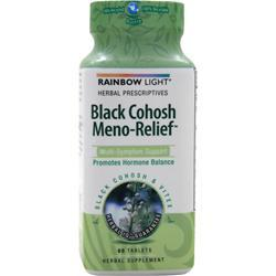 RAINBOW LIGHT Black Cohosh Meno-Relief 1650 60 tabs