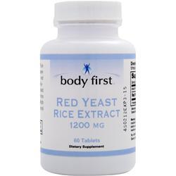 BODY FIRST Red Yeast Rice Extract (1200mg) 60 tabs