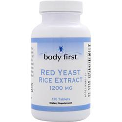 BODY FIRST Red Yeast Rice Extract (1200mg) 120 tabs