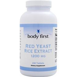 Body First Red Yeast Rice Extract (1200mg) 240 tabs
