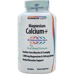 RAINBOW LIGHT Calcium Plus 180 tabs