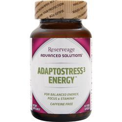 Reserveage Organics Adaptostress-3 Energy 60 vcaps