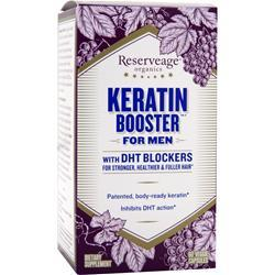 Reserveage Organics Keratin Booster for Men with DHT Blockers 60 vcaps
