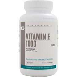 UNIVERSAL NUTRITION Vitamin E 1000 50 sgels