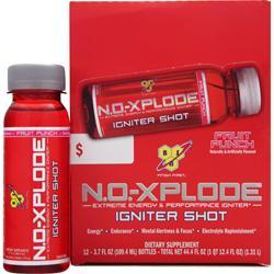 BSN NO-Xplode Igniter Shot Fruit Punch 12 bttls