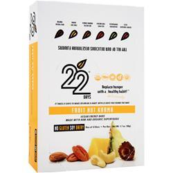 22 Days Protein Bar FruitNut Karma 12 bars