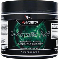 AI SPORTS NUTRITION D-Aspartic Acid 180 caps