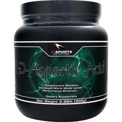 AI SPORTS NUTRITION D-Aspartic Acid Powder 300 grams