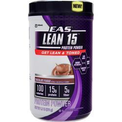 EAS Lean 15 Protein Powder Chocolate Fudge 1.7 lbs