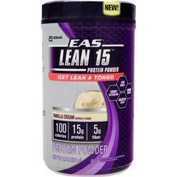 EAS Lean 15 Protein Powder Vanilla Cream 1.7 lbs