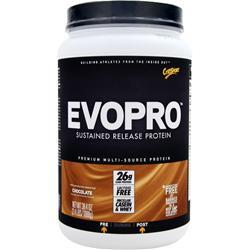 CYTOSPORT Evopro - Nature's Perfect Protein Chocolate 2.4 lbs