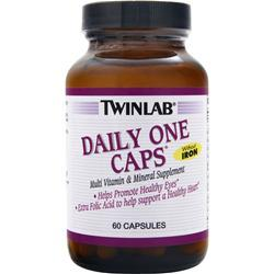 TWINLAB Daily One Caps without Iron 60 caps