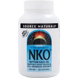 Source Naturals NKO - Neptune Krill Oil (500mg) 120 sgels