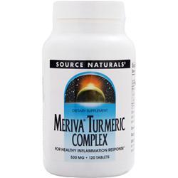 Source Naturals Meriva Turmeric Complex 120 tabs