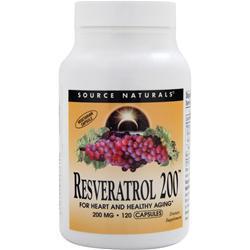 Source Naturals Resveratrol 200 120 caps