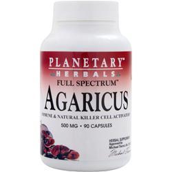 PLANETARY FORMULAS Full Spectrum Agaricus (500mg) 90 caps