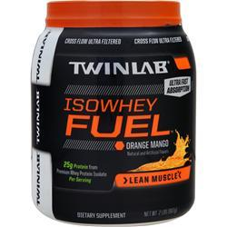 TwinLab IsoWhey Fuel Orange Mango 2 lbs