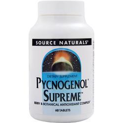 SOURCE NATURALS Pycnogenol Supreme 60 tabs
