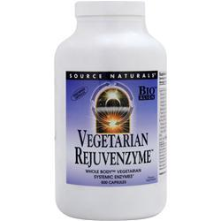 Source Naturals Vegetarian RejuvenZyme 500 caps