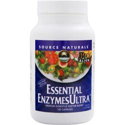 Source Naturals Essential EnzymesUltra 120 caps