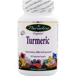 Paradise Herbs Essential Turmeric 120 vcaps