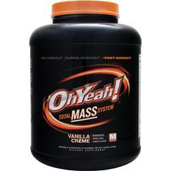 ISS Research Oh Yeah! Total Mass System Vanilla Creme 5.95 lbs