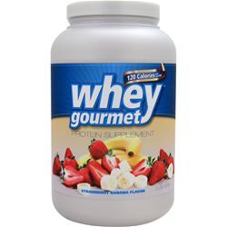 Fit Foods Whey Gourmet Strawberry Banana 2 lbs