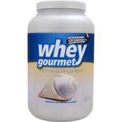 Fit Foods Whey Gourmet Vanilla Ice Cream 2 lbs
