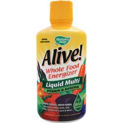 NATURE'S WAY Alive Multivitamin - Liquid Citrus 30 fl.oz