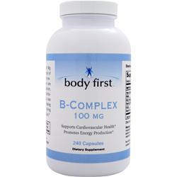 BODY FIRST B Complex (100mg) 240 caps