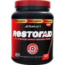 Isatori Restoraid Full Spectrum Muscle Recovery System Citrus Punch 440 grams