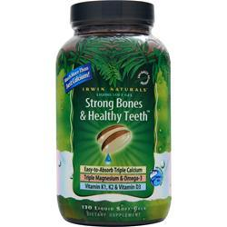 IRWIN NATURALS Strong Bones and Healthy Teeth 130 sgels