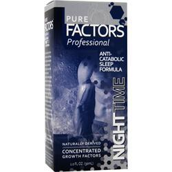 PURE SOLUTIONS Pure Factors Professional Nighttime 1 fl.oz