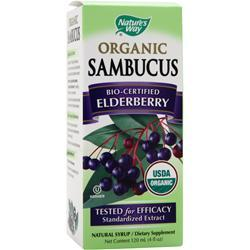 Nature's Way Sambucus Bio-Certified Elderberry - Organic 4 fl.oz