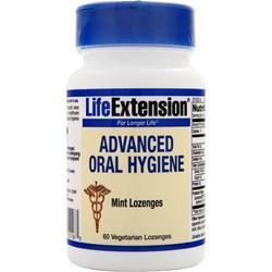 LIFE EXTENSION Advanced Oral Hygiene Mint 60 lzngs