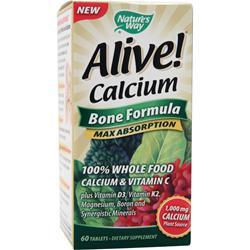 NATURE'S WAY Alive Calcium - Bone Formula 60 tabs