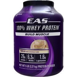 EAS 100% Whey Protein Vanilla 5 lbs