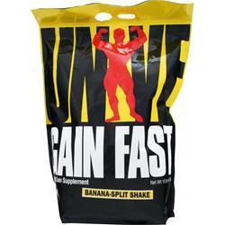 Universal Nutrition Gain Fast 3100 Banana-Split Shake 10 lbs
