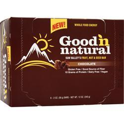 GOOD 'N NATURAL Sun Valley's Fruit, Nut & Seed Bar Chocolate 6 bars