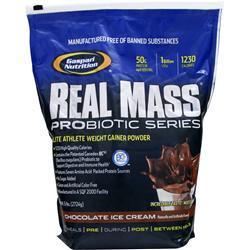 GASPARI NUTRITION Real Mass Probiotic Series Strawberry Milkshake 12 lbs